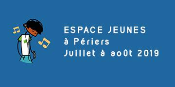 Espace jeunes à Périers - Juillet et Août 2019