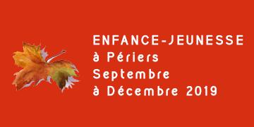 Enfance-Jeunesse à Périers - Septembre à décembre 2019